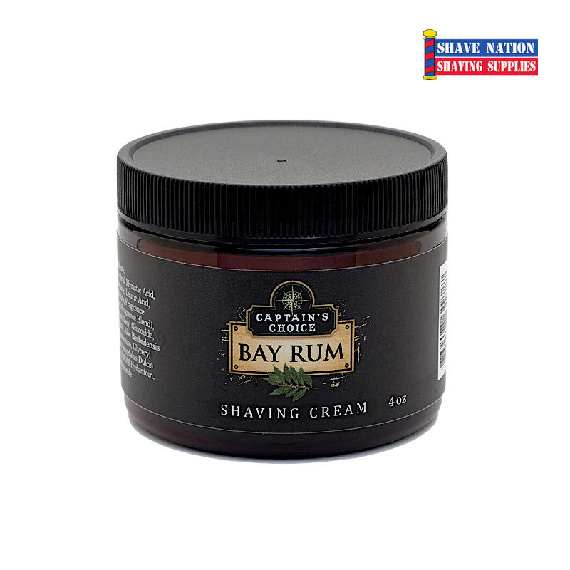 Captain's Choice Shaving Cream - Bay Rum