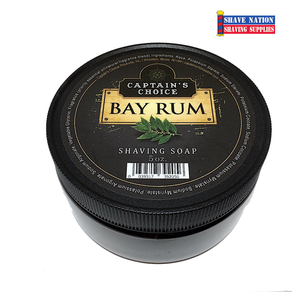 Captain's Choice Shaving Soap - Bay Rum