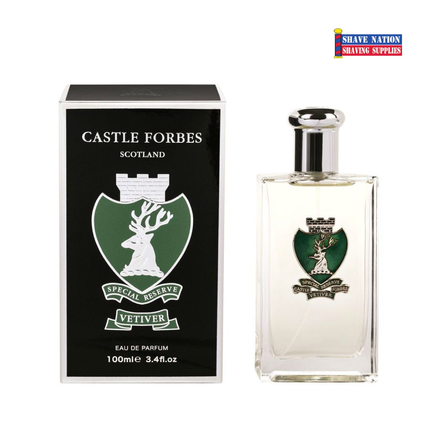 Castle Forbes VETIVER Eau De Parfum Aftershave