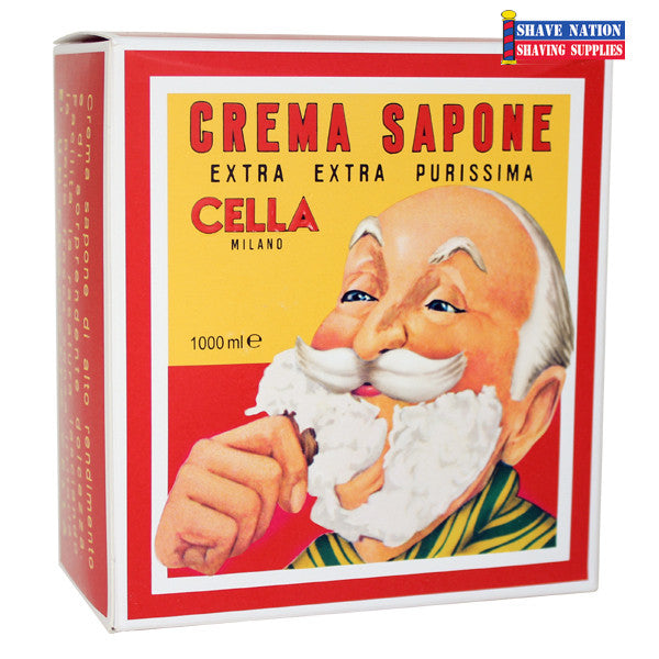 Cella Shaving Soap Sweet Almond Oil 2lb-1kg Brick