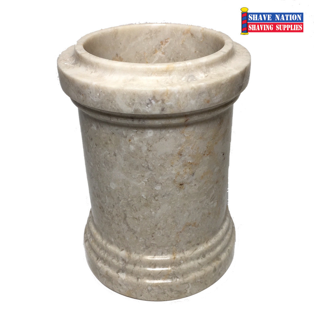 Champagne Marble Brush Soaking Cup (359)