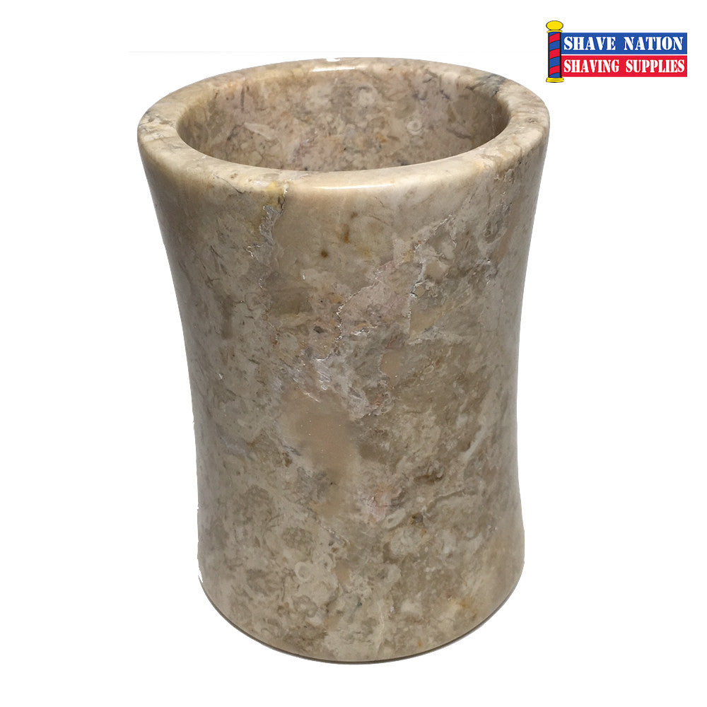 Champagne Marble Brush Soaking Cup (587)