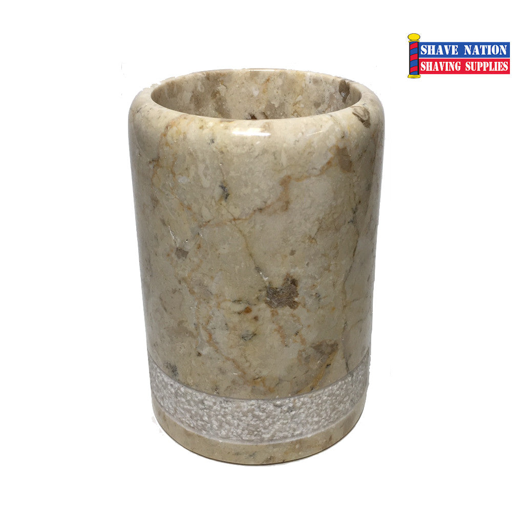 Champagne Marble Brush Soaking Cup (632)