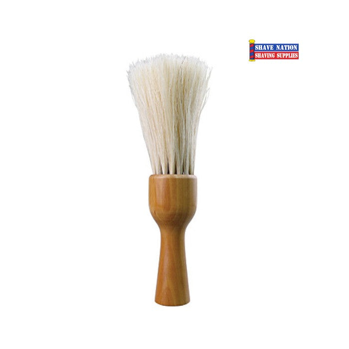 Diane Neck Duster Brush with Wood Handle