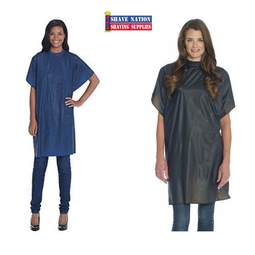 Diane Shampoo Barber Cape - Smock - Navy or Black