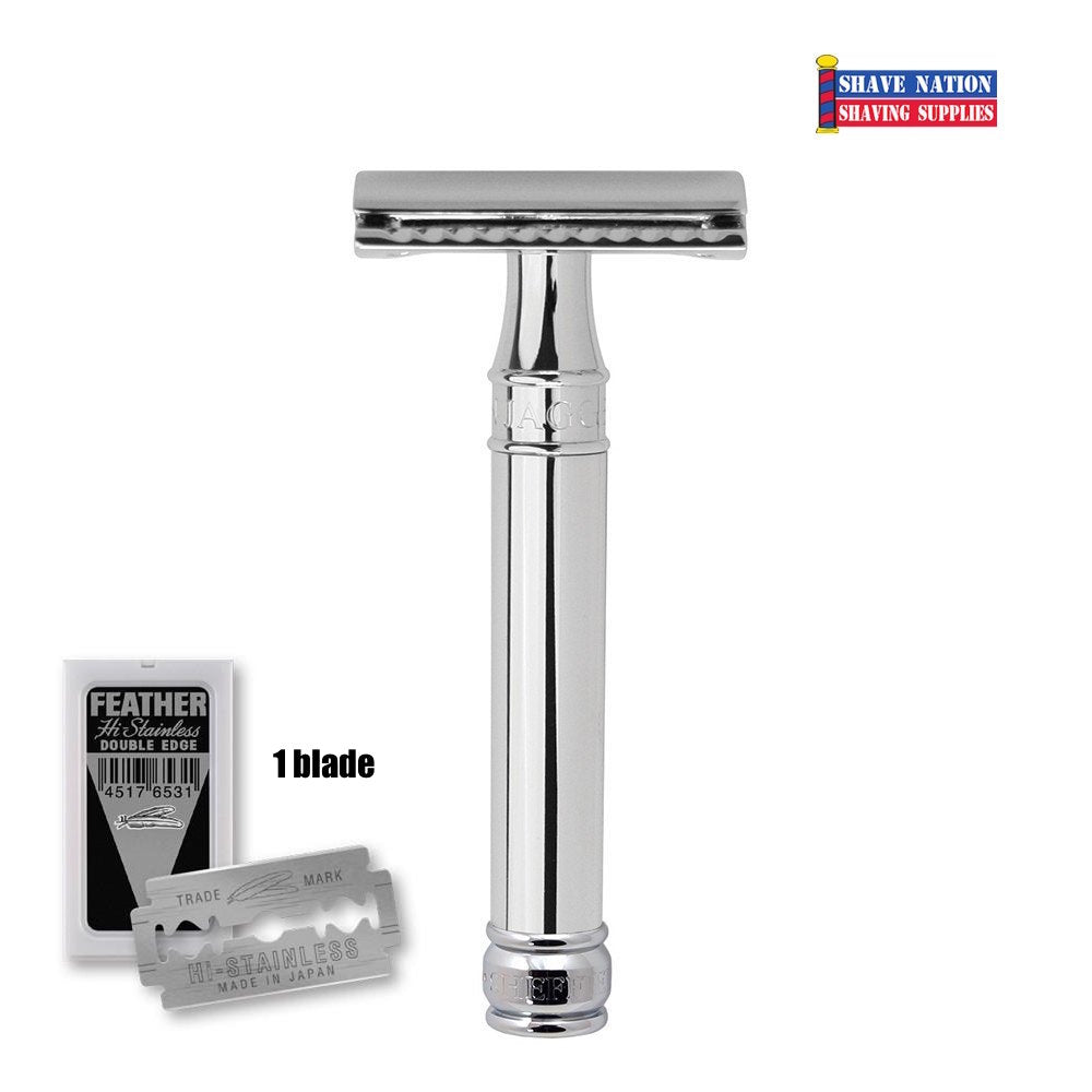 Edwin Jagger Closed Comb DE89BL Safety Razor
