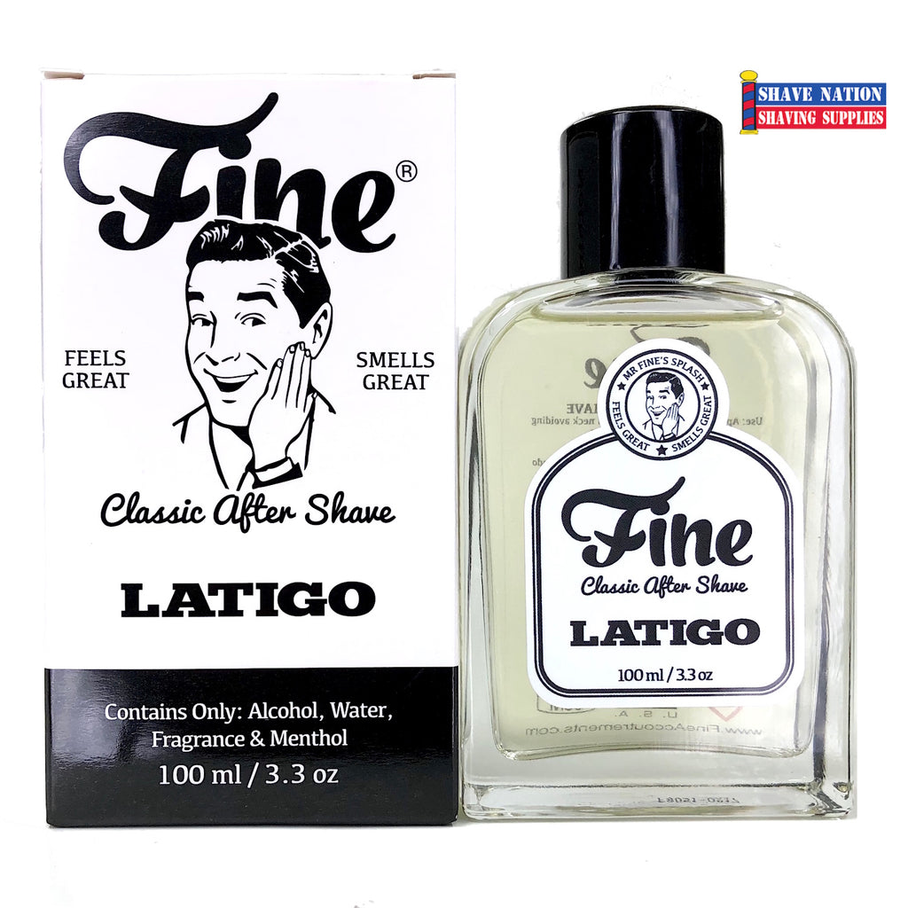 NEW! Fine Accoutrements LATIGO Aftershave