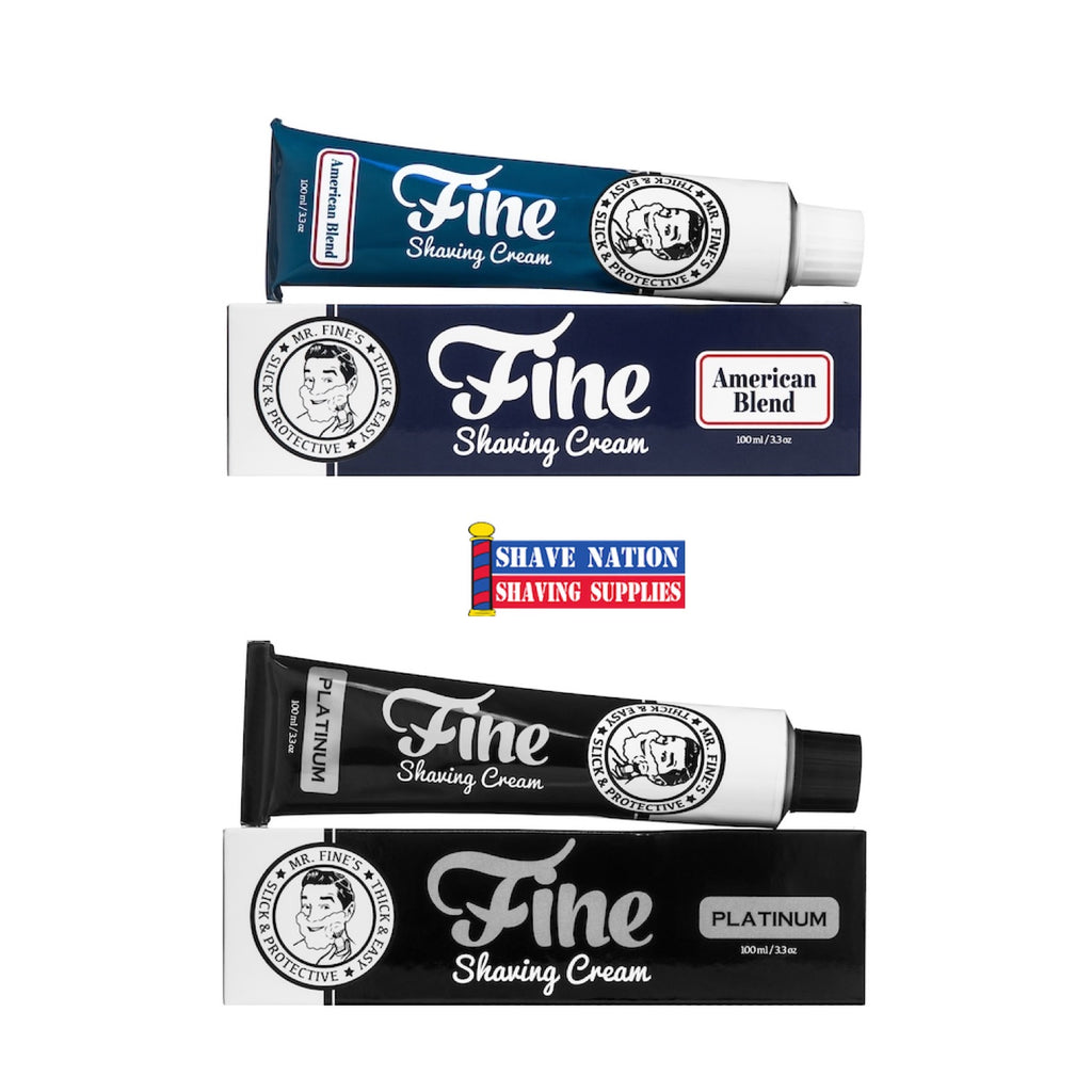 Fine Shaving Cream Tube