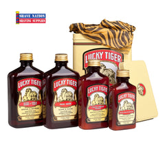 Lucky Tiger Essential Grooming Kit-Gift Tin