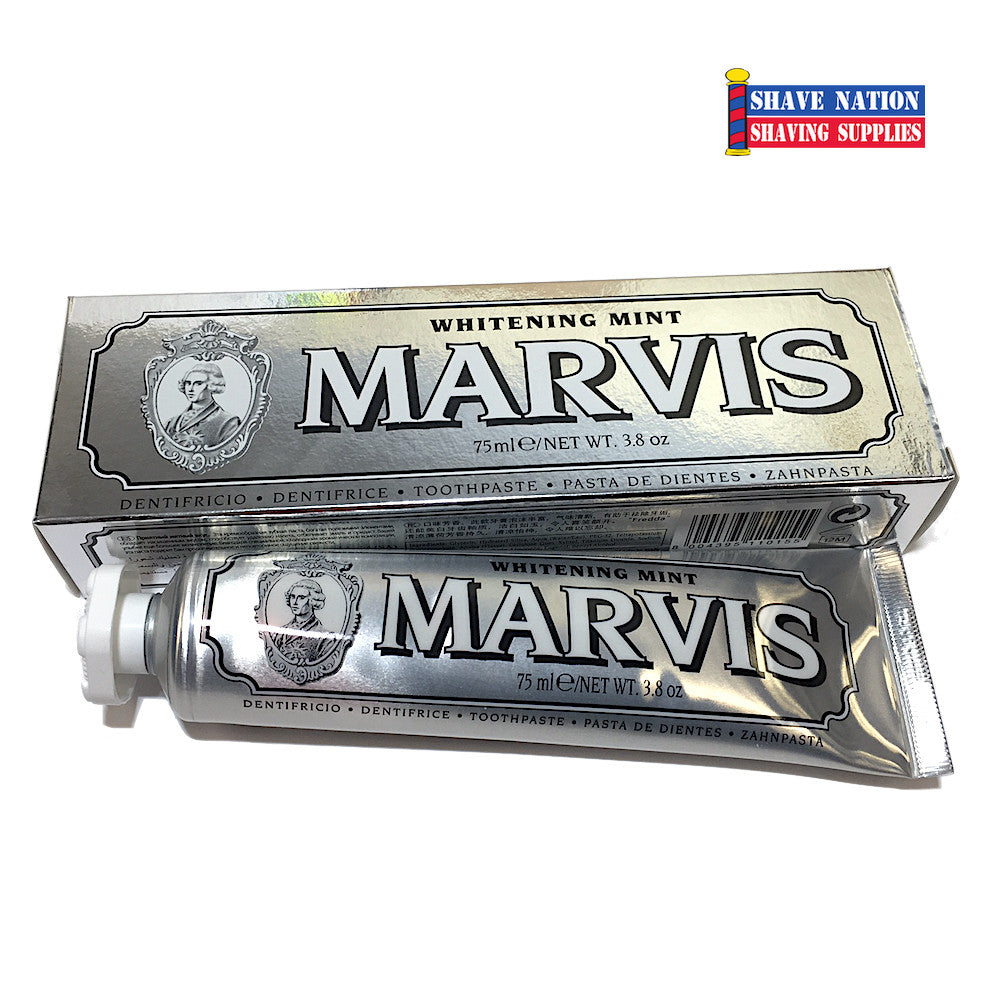 Marvis Toothpaste Whitening Mint 75ml Large