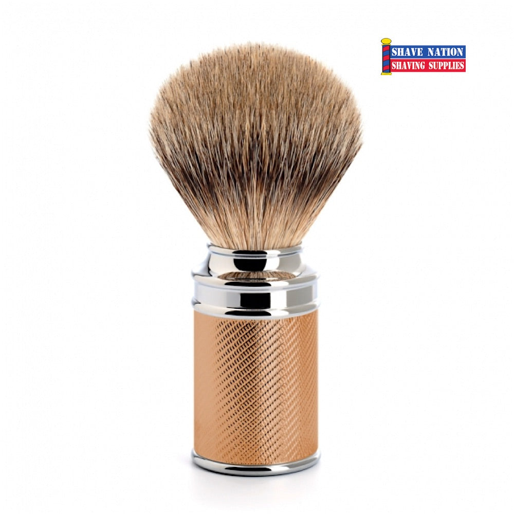Muhle Silvertip Badger Brush Rosegold
