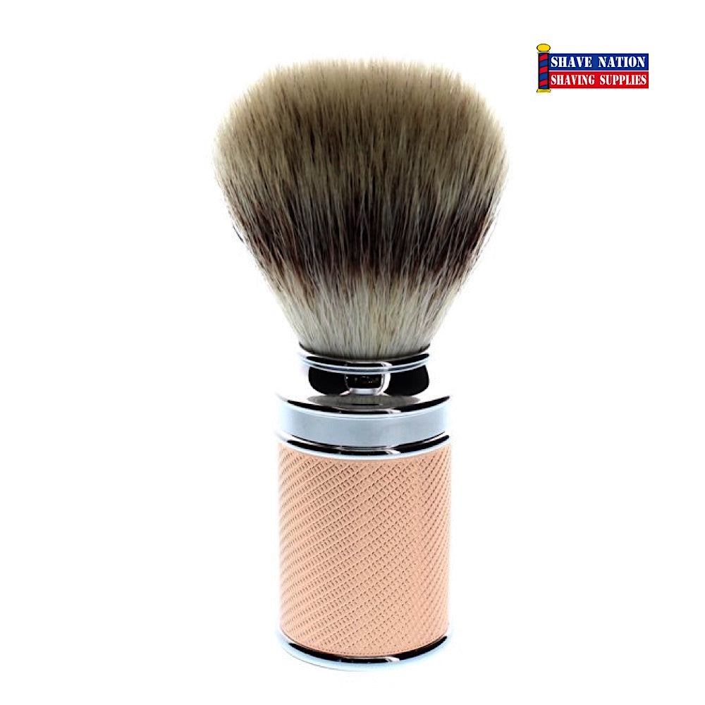 Muhle Synthetic Silvertip Brush with Rosegold Handle