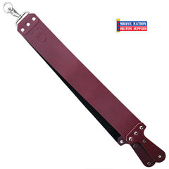 Parker Latigo Leather Razor Strop Red