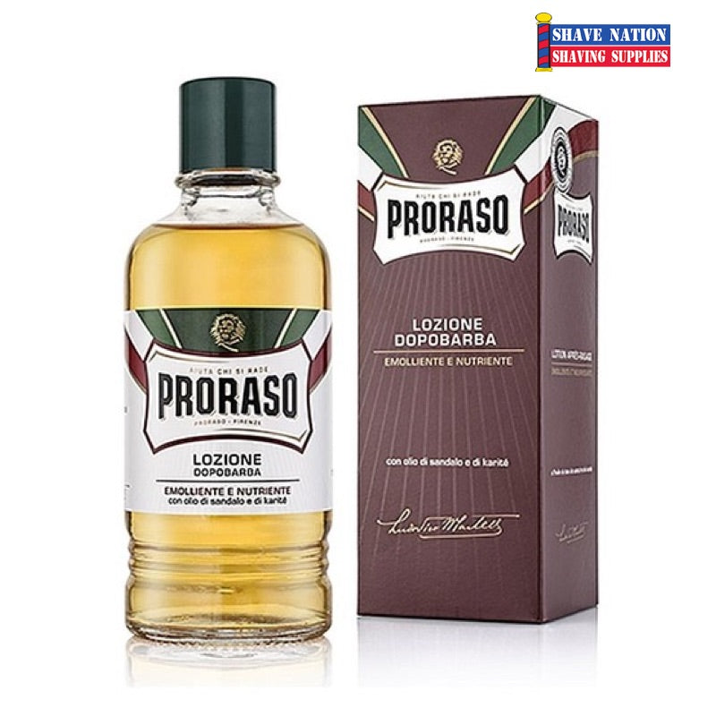 Proraso Large Red Aftershave Lotion for PROFESSIONAL Use 400ml