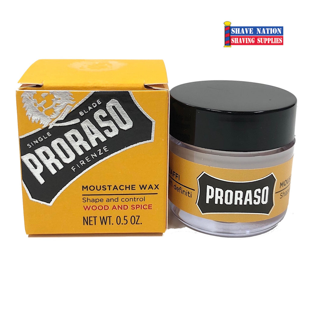 Proraso Moustache Wax Wood and Spice