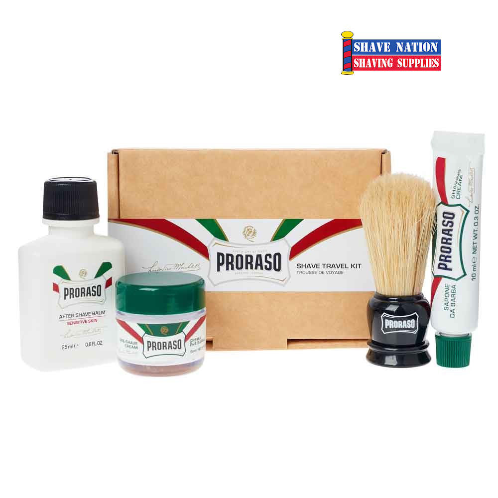 Proraso Wet Shaving Travel Set