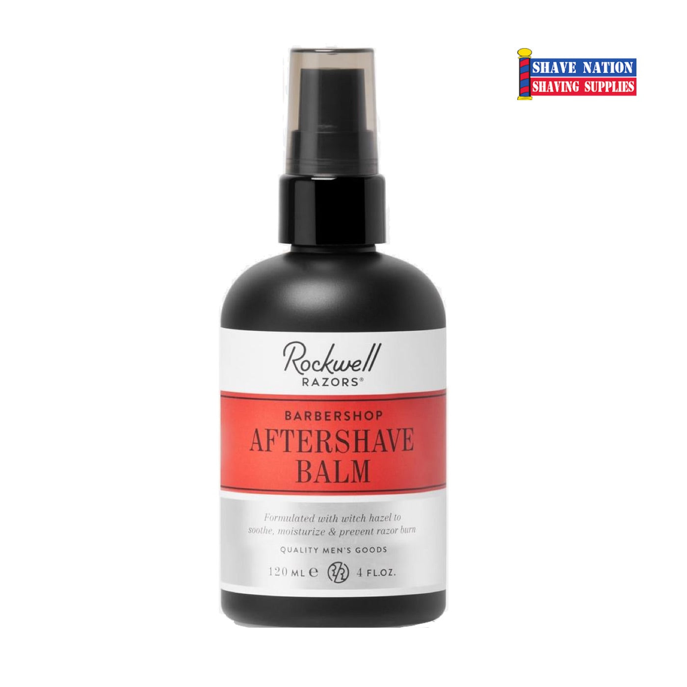 Rockwell AfterShave Balm Barber Shop Scent