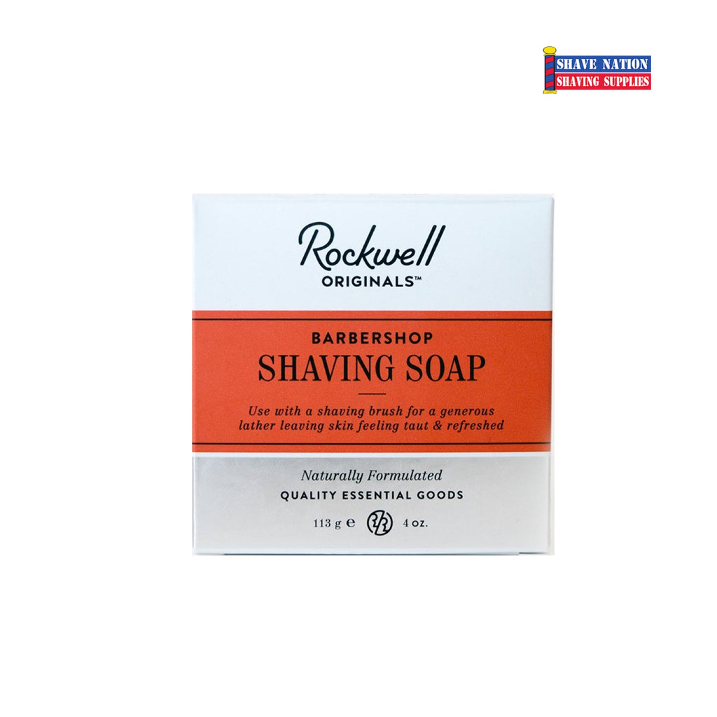 Rockwell Shave Soap Refill Barbershop Scent