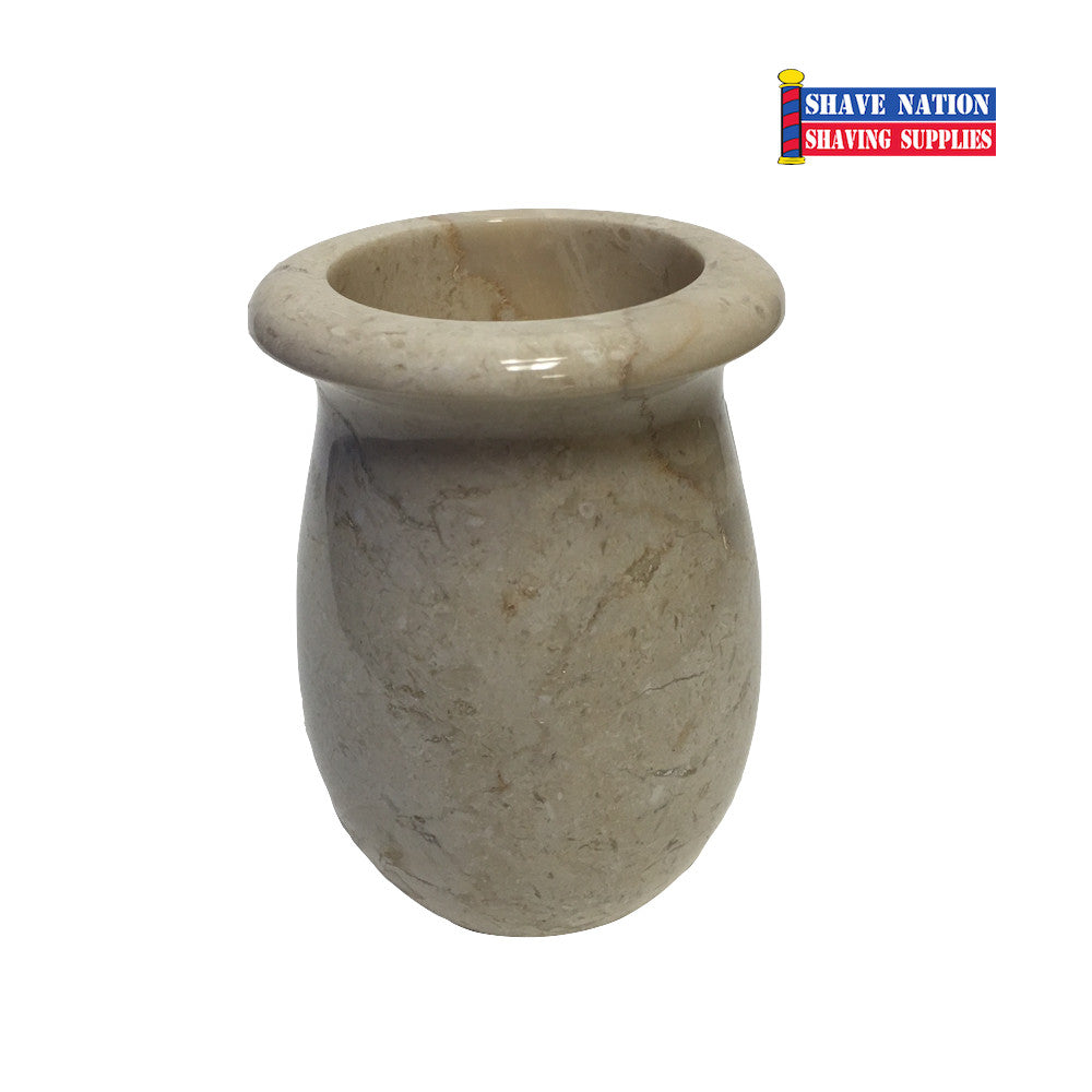 Champagne Marble Brush Soaking Cup (355)