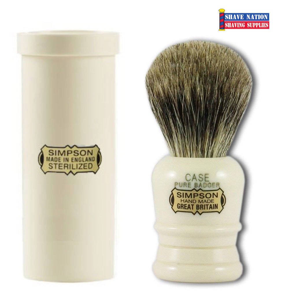 Simpsons CASE Pure Travel Brush with Case