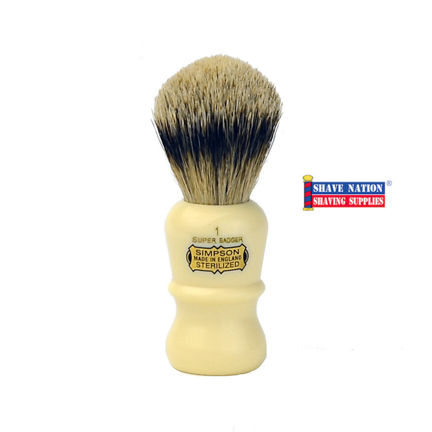 Simpsons Emperor E1 Super Badger Brush