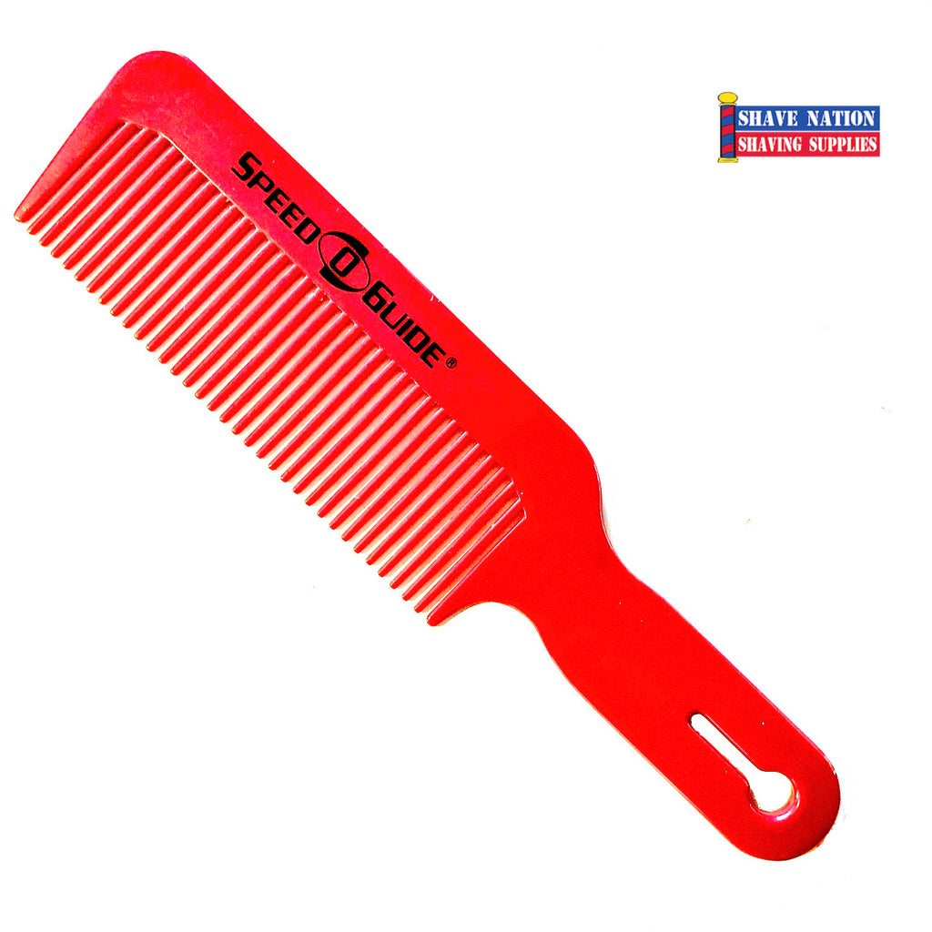 Speed O Guide Flatopper Red Comb