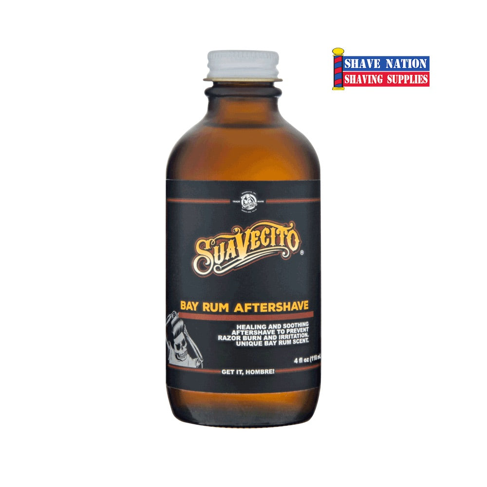 Suavecito Bay Rum Aftershave 4oz