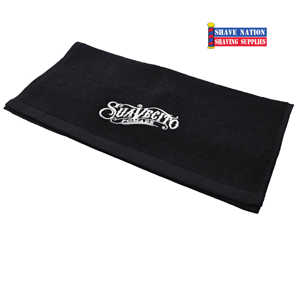 Suavecito Salon Towel-Black