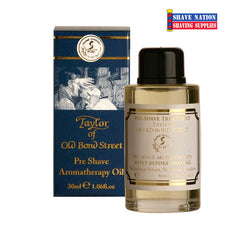 Taylor of Old Bond Street Preshave Aromatherapy Oil