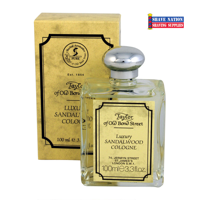Taylor of Old Bond Street Luxury Sandalwood Cologne