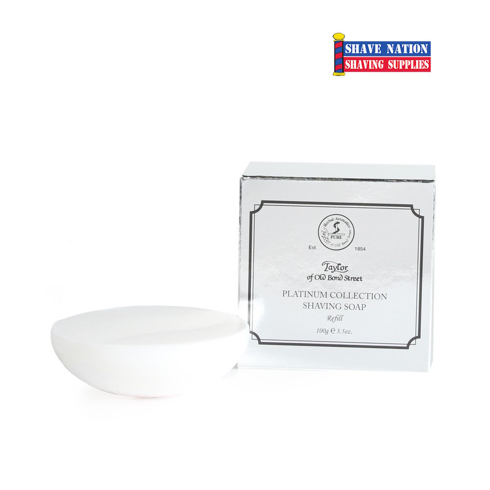 Taylor of Old Bond Street Platinum Collection Shaving Soap Refill