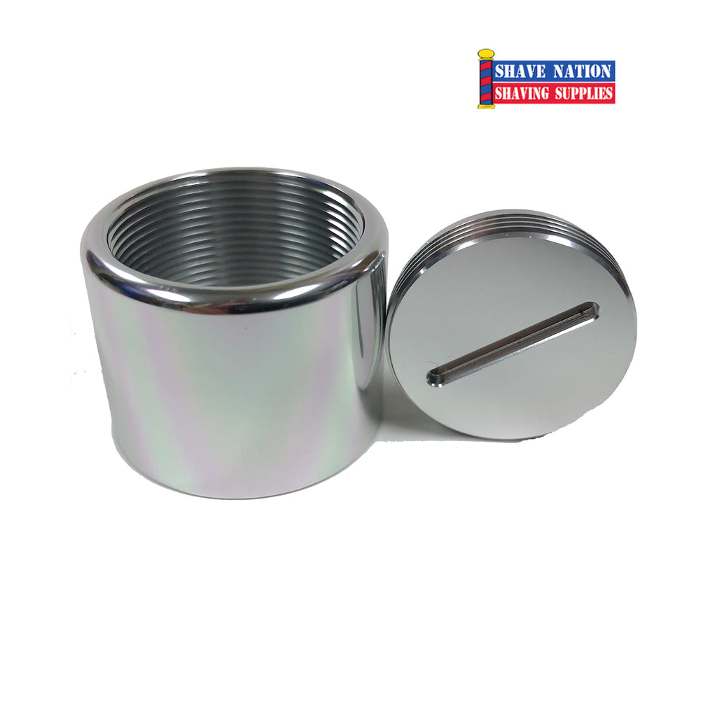 Alpha Aluminum Rubberset Threaded Ferrule Brush Holder