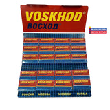 Voskhod Teflon Coated DE Blades 100ct