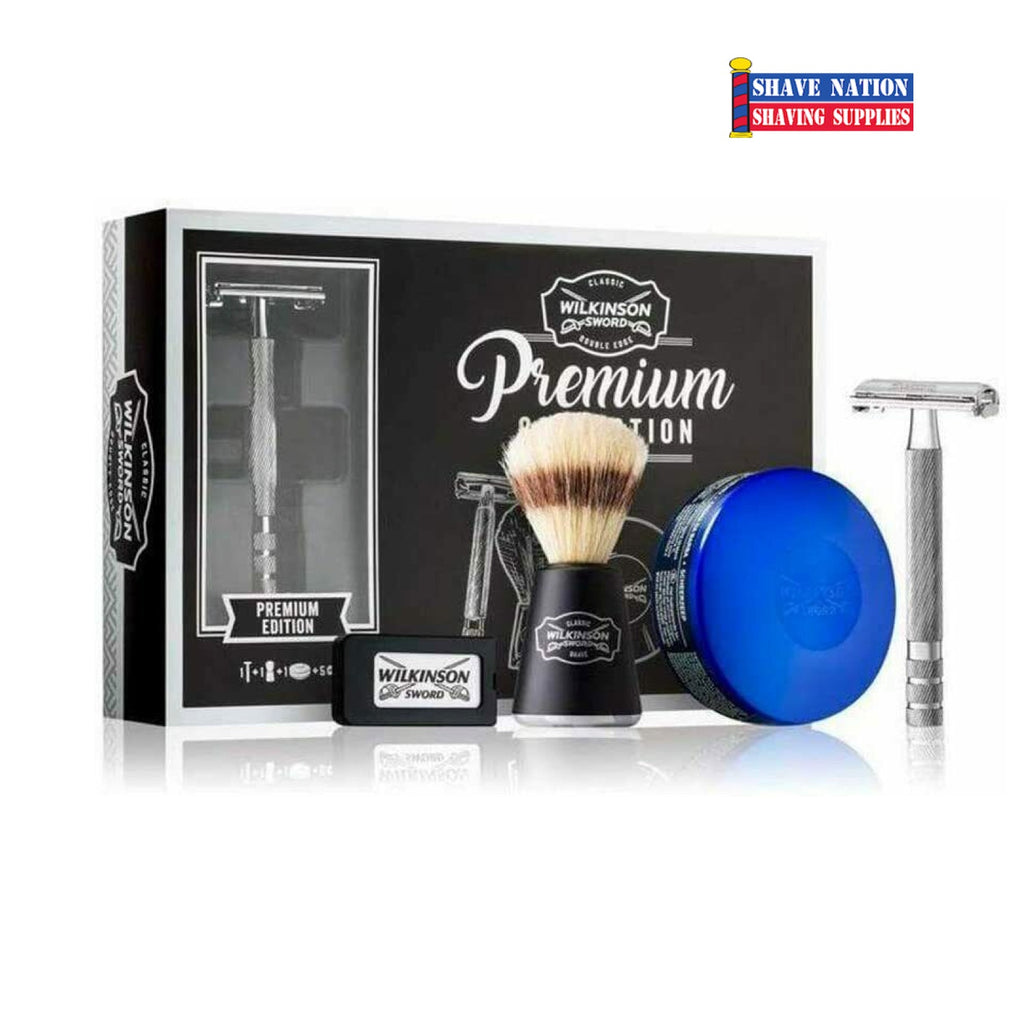 Wilkinson Sword Butterfly Razor Premium Collection Shaving Set