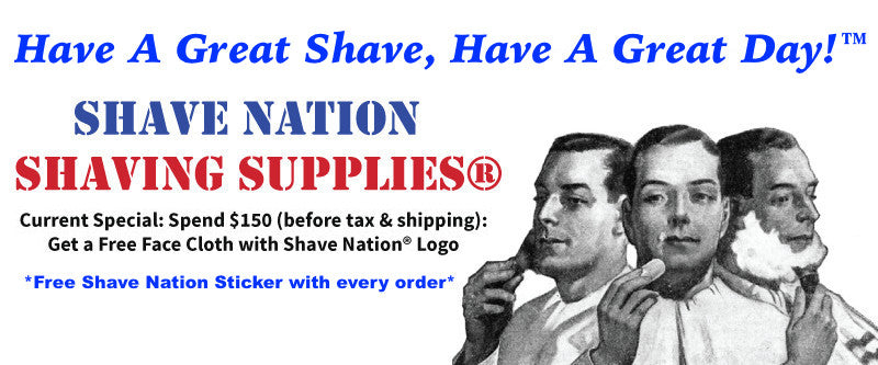 Shave Nation Shaving Supplies