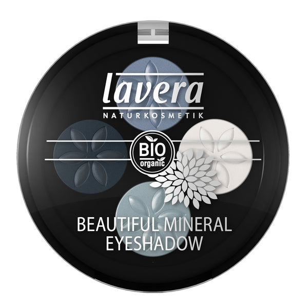 Lavera Beautiful Mineral Eyeshadow Quattro-Blue Platinum 07