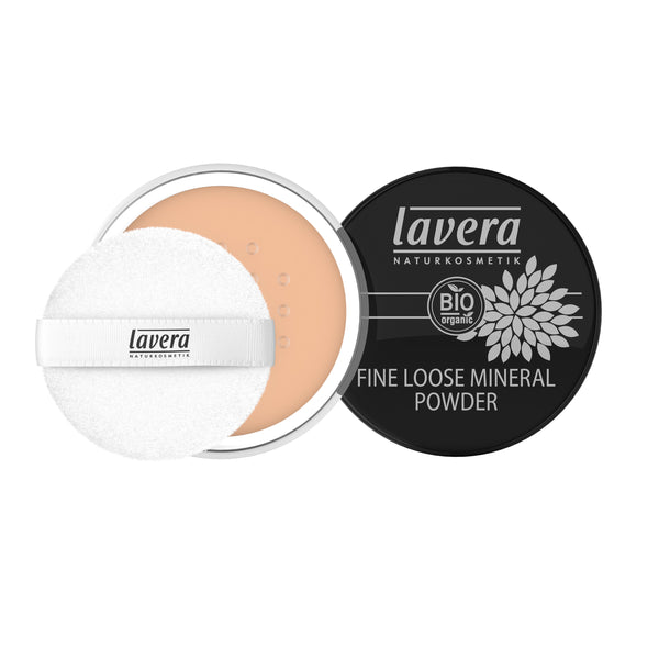 Lavera Fine Loose Mineral Powder -Honey 03