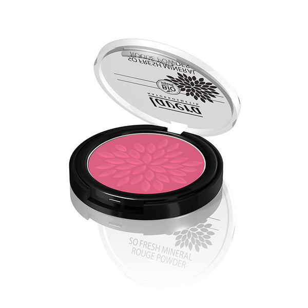 Lavera so Fresh Mineral Rouge Powder - Pink Harmony 04