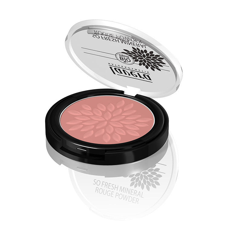 Lavera so Fresh Mineral Rouge Powder -Plum Blossom 02