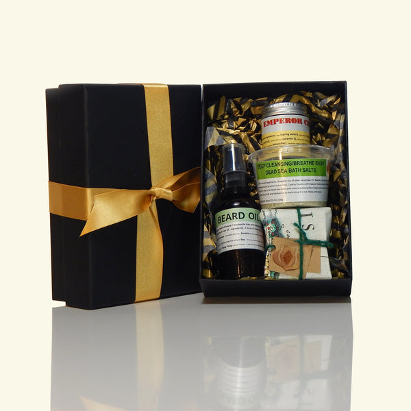 Luxury Mens Beard Gift Box