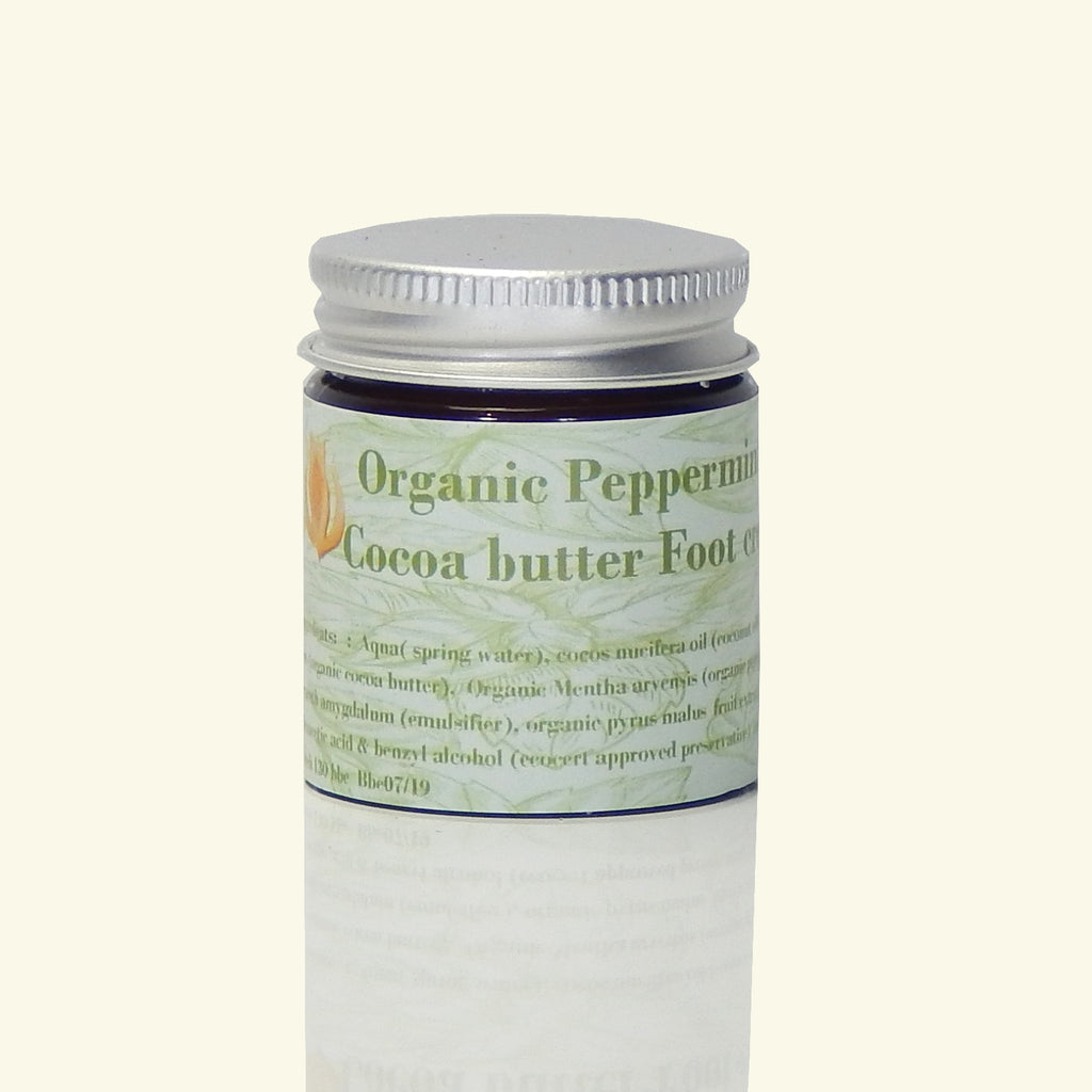 PEPPERMINT & COCOA BUTTER FOOT CREAM