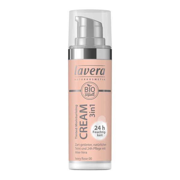 Lavera Tinted Moisturising Cream 3 in 1 -Ivory Rose 00