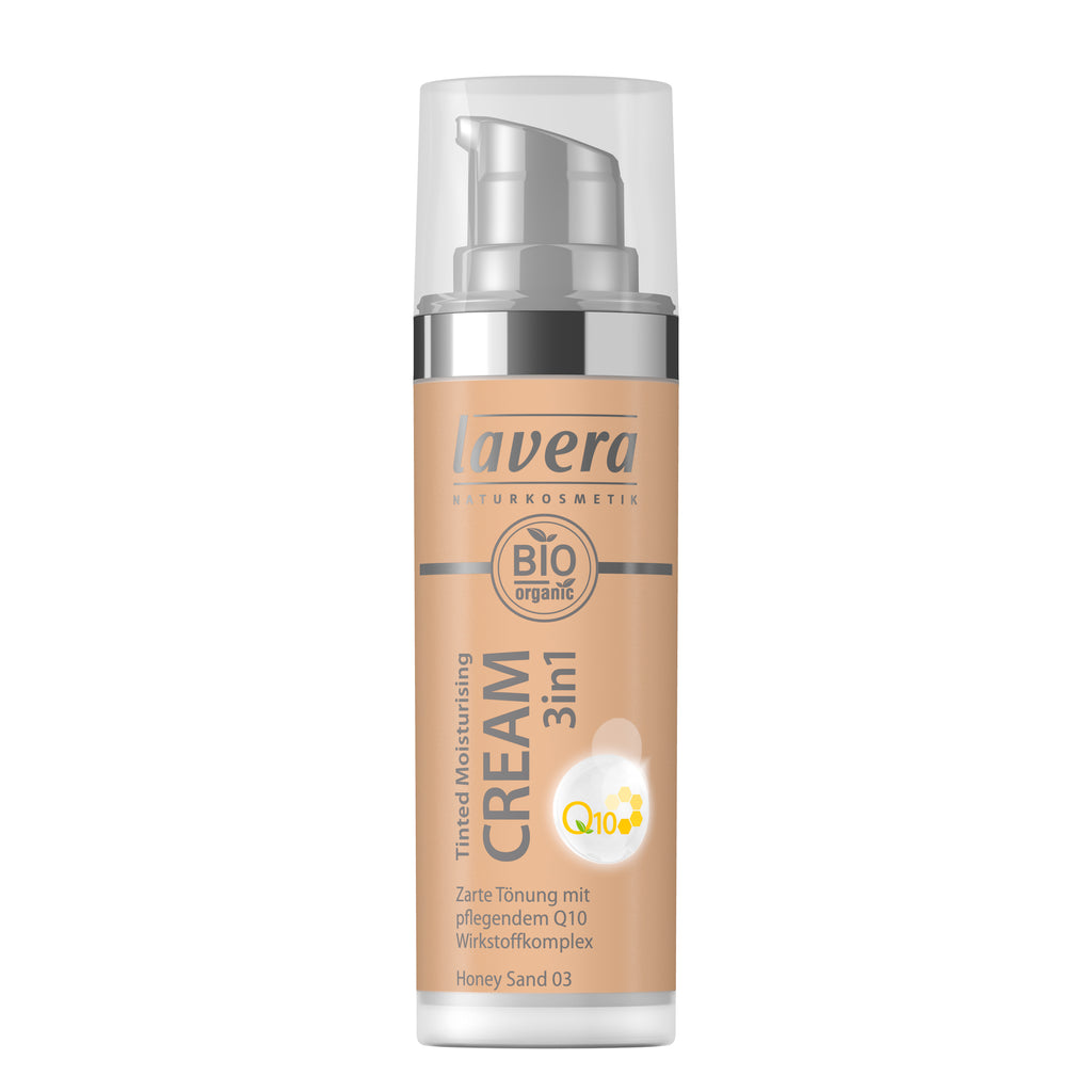 Lavera Tinted Moisturising Cream 3in1 Q10 -Honey Sand 03