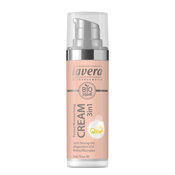 Lavera Tinted Moisturising Cream 3in1 Q10-ivory Rose 00