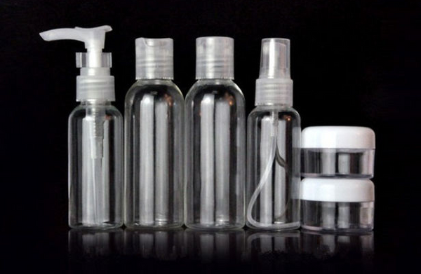 Refillable Travel Bottles - Set of 6
