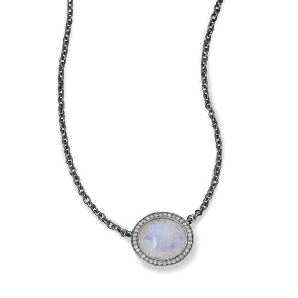 Introducing the Emma Grey Diamond Necklace