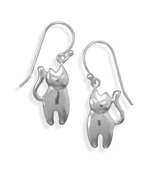 Polished Cat Earrings