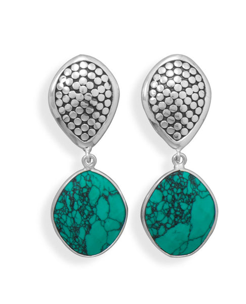 Turquoise Clip-on Earrings