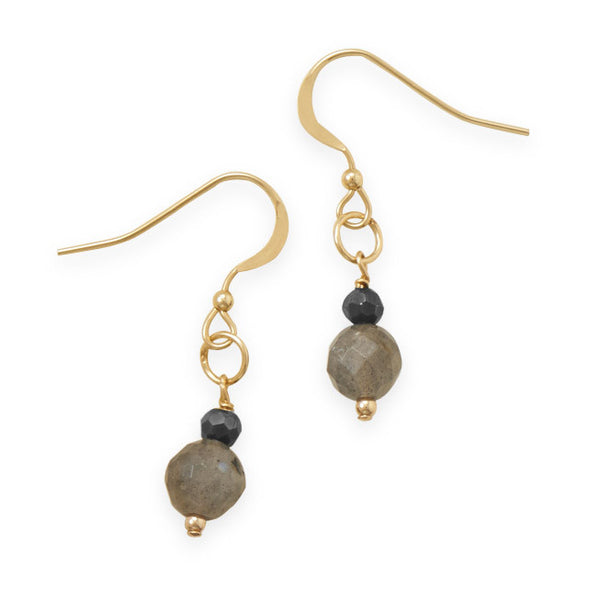 Sunset Labradorite Drop Earrings