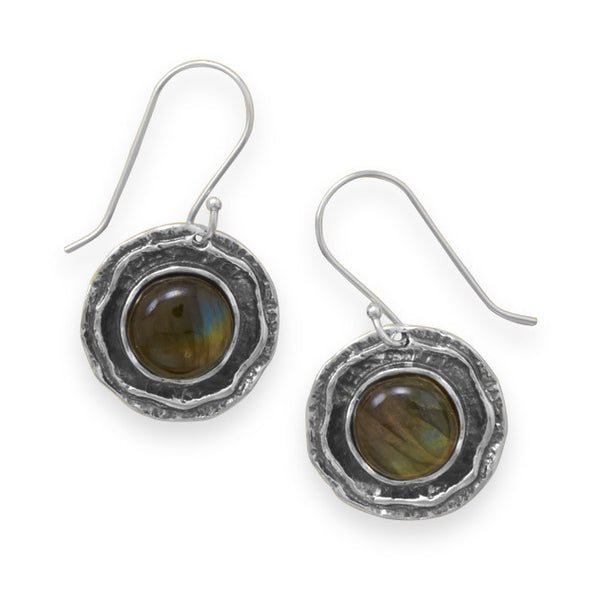 Mystic Earrings With Labradorite